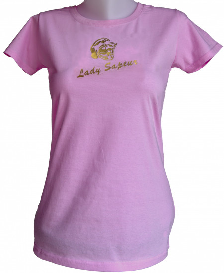 T-shirt lady sapeur