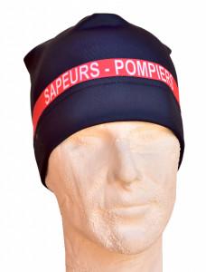 Bonnet de sport bande rouge
