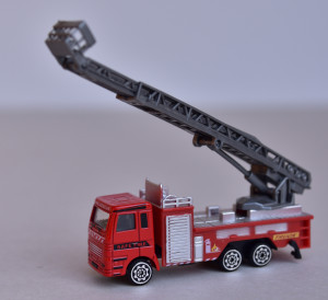 Camion pompier metal