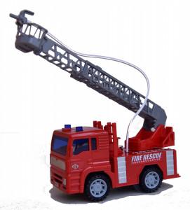 Camion de pompier splach