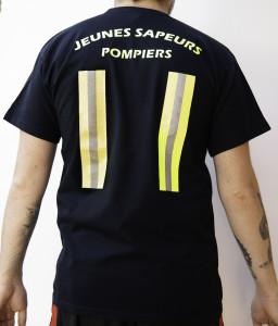 T-shirt bande fluo JSP