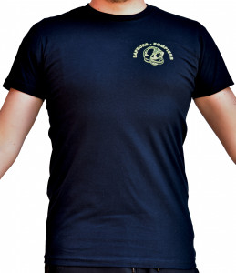 T-shirt casque F1 fluo jaune