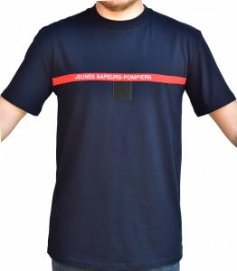 T-shirt bande rouge jsp