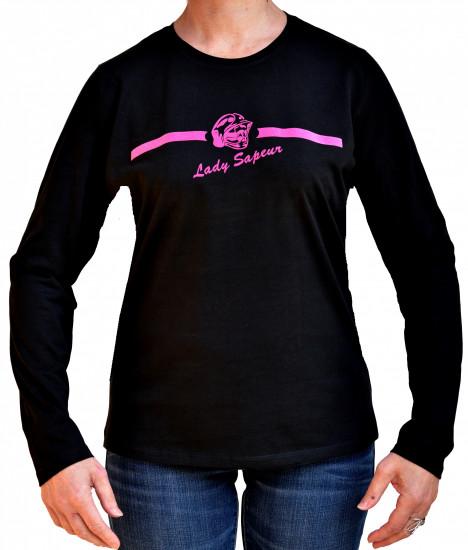 T-shirt LADY SAPEUR MANCHES LONGUES