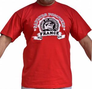 T-shirt Sapeurs Pompiers France