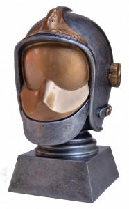 Trophée casque f1