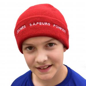 Bonnet tricoté brodé JSP